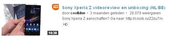 Youtube optimalisatie Coolblue